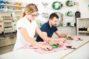 Textilstickerei