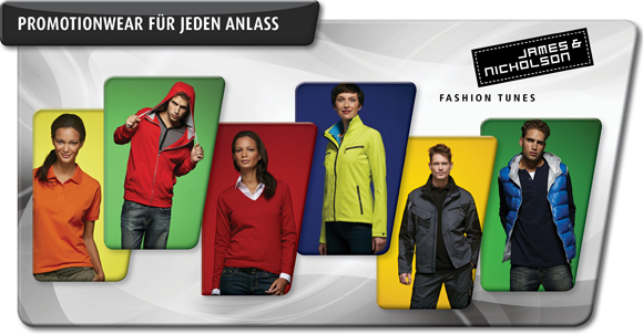 Promotionwear von James und Nicholson